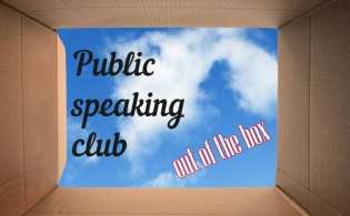 Public speaking club – out of the box